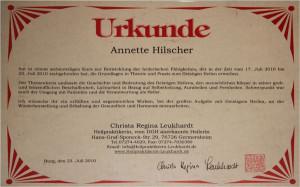 Annette Hilscher, Heilerin aus Magdeburg